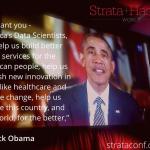 Strata + Hadoop World 大會擴大舉行,新任白宮資料科學家受矚目