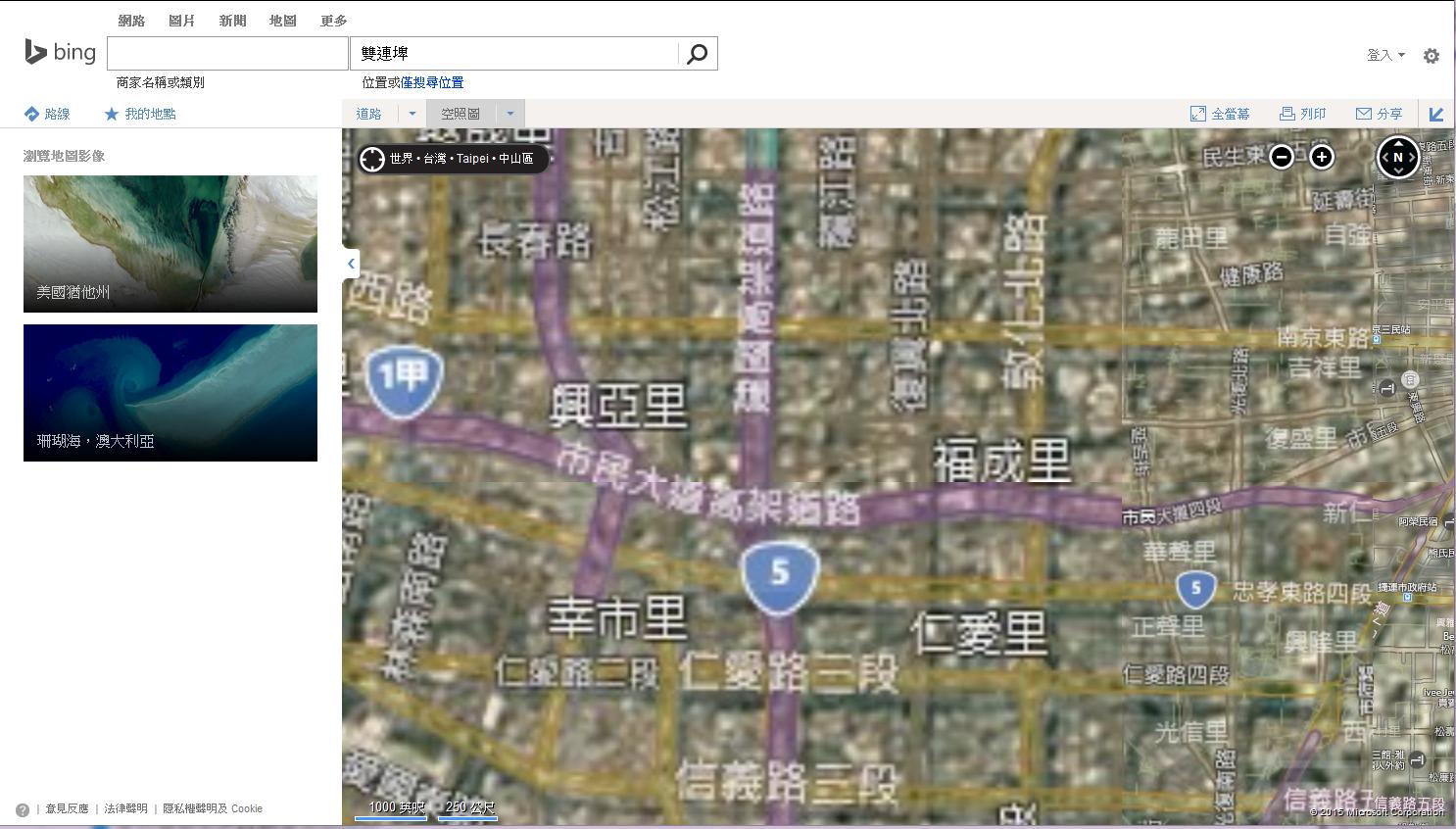 2015-04-07 Bing-Map-Taipei-City