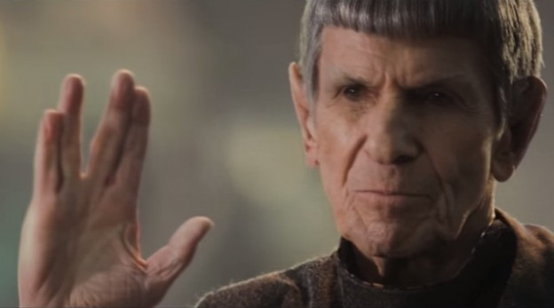 Leonard Nimoy a.k.a. Spock