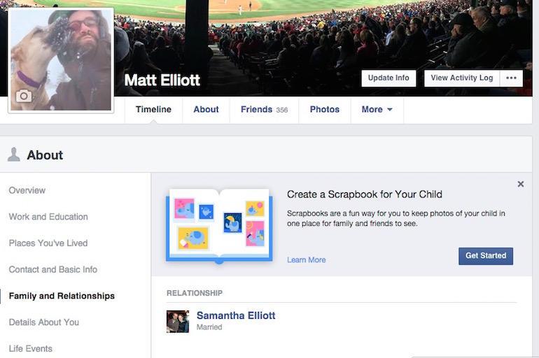 為寶貝孩子製作相簿,Facebook 推出「Scrapbook」功能