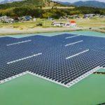 floating solar plant in Japan 20150427