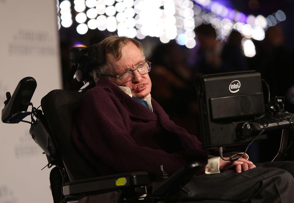 達志影像Stephen Hawking