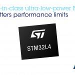 意法半導體推新款 STM32L4 微控制器,實現高性能中的超低功耗