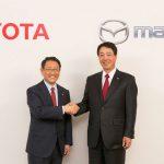 豐田、馬自達結為長期盟友,技術交互授權發揮綜效