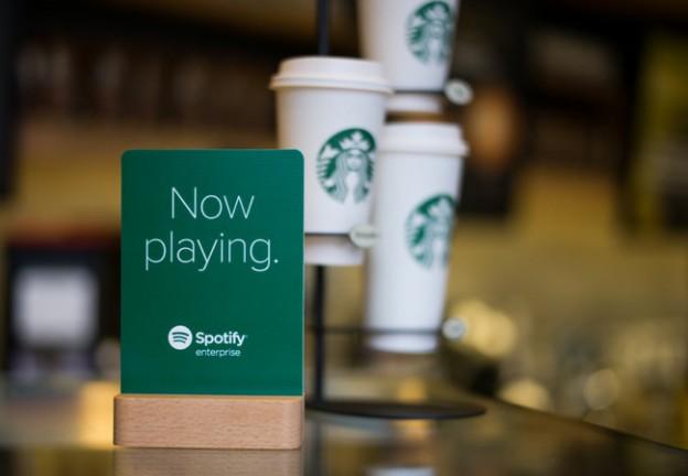 Starbucks X Spotify