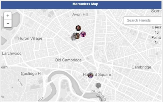Chrome 加外掛,在地圖上追蹤你的 FB 朋友都在哪裡(以及如何不被追蹤)