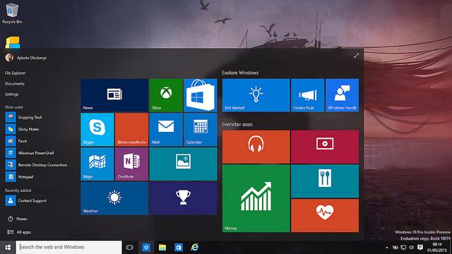 微軟:安裝 Windows 10 預覽版的會員,可直升 Windows 10 正式版