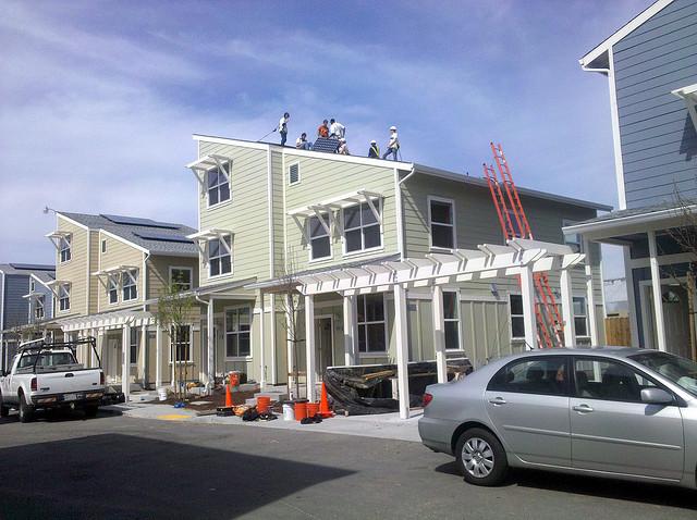 美國加州計劃 2020 年所有新住宅都達成淨零能源