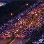 上海金山反對二甲苯大規模抗議超過一週,微博已可搜到抗爭資訊