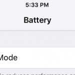 iOS 9省電模式,讓 iPhone 6 降效能至 iPhone 5 和 5S 之間
