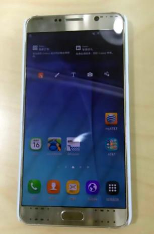 三星 Note 5 諜照曝光!採鋁合金邊框、處理器沒升級?