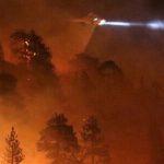 無人機妨礙救火,加州立法授權直升機可用水槍擊落