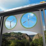 高架橋風力渦輪機:你在上頭過橋,它在下頭發電