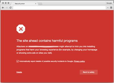 Google-Chrome-warning