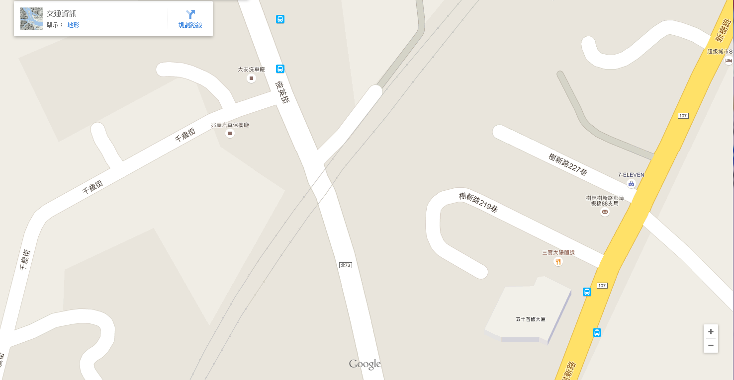 Google-Maps-Shulin-Railway-Crossing