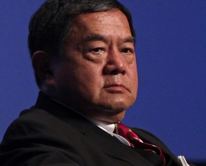 Far Eastern Group Chairman Douglas Hsu attends the Asian Financial Forum in Hong Kong