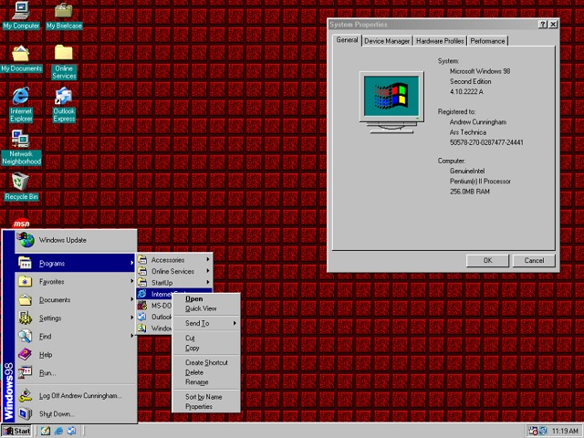 Windows 98 SE_ifanr0730