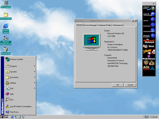 Windows 98_ifanr0730