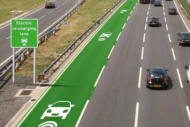 英國馬路會充電,電動車安心開上路