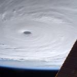 颱風來勢洶洶!太空人眼中的蘇迪勒長這樣