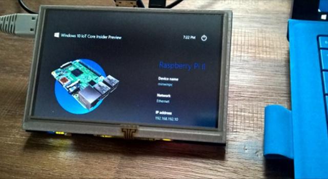 微軟宣布 Windows 10 IoT Core 正式版開放下載,樹莓派 2 可用