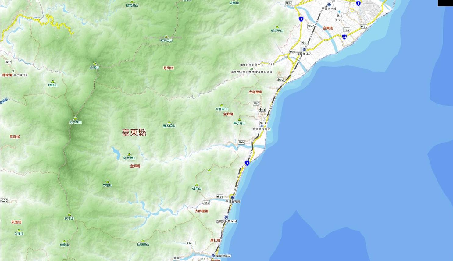 [8/28 更新] 政府地理圖資開放還算可以的突破-通用版電子地圖有 OpenData 版
