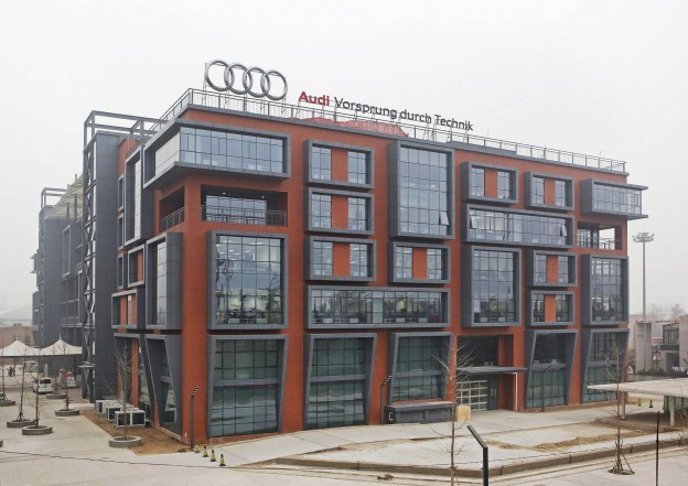 Audi opens Research & Development Center for Asia in Beijing, Ch