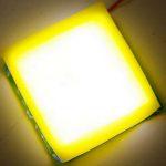 現有 LED 技術加新材料,交大研發可撓式白光 LED 片狀光源