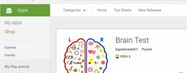 Brain Test app_leiphone0924