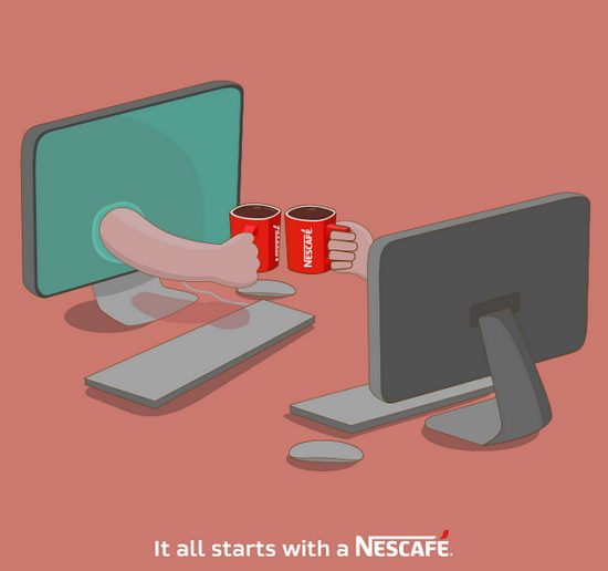 It all starts with a Nescafe_techbang0923