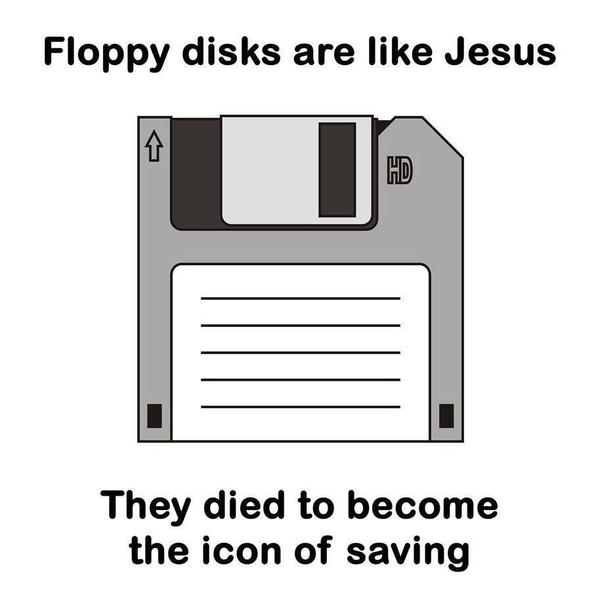 floppy are like jesus