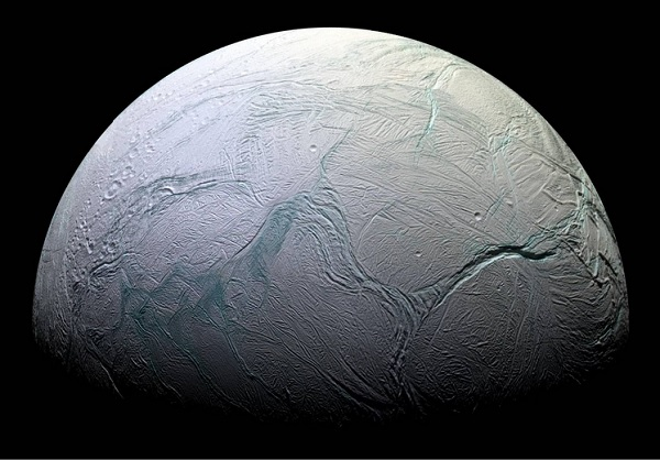 surface of enceladus