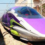 日本山陽新幹線、EVANGELION 合作,初號機列車 11 月 7 日運行