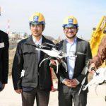 工人短缺,日本廠商使用無人機指揮挖掘機工作