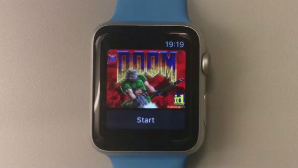 在 Apple Watch 上玩經典第一人稱射擊遊戲 Doom
