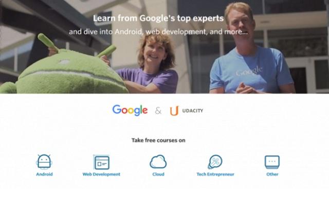 創業者的喜訊:Google 與 Udacity 網上教你寫程式及做生意