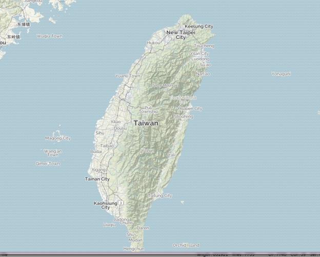 Mapquest2015-Taiwan
