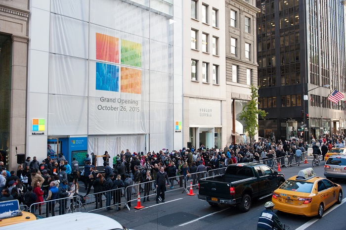Microsoft Opens Flagship Store On New York