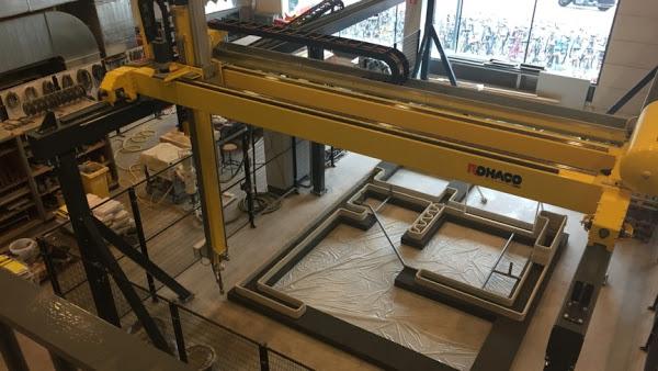 荷蘭正在測試 3D 水泥列印技術,3D 列印的房子將成為可能