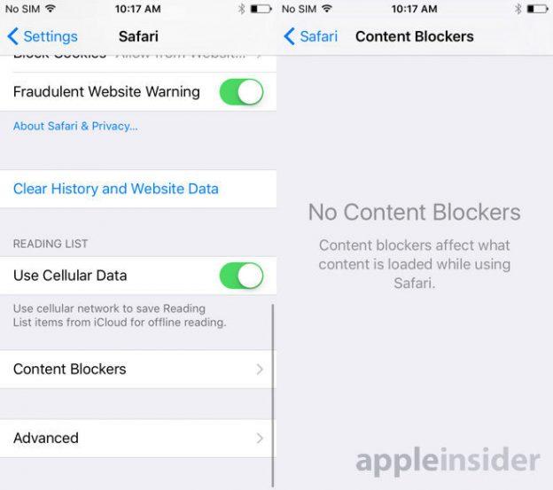 block content blockers
