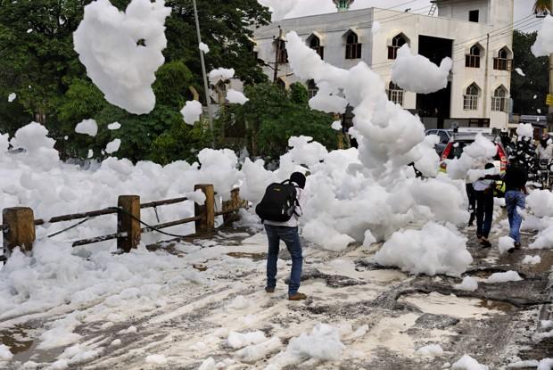 Harmful Snowy Froth
