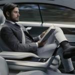 Volvo 自動駕駛車內裝概念亮相,開車通勤不再浪費時間