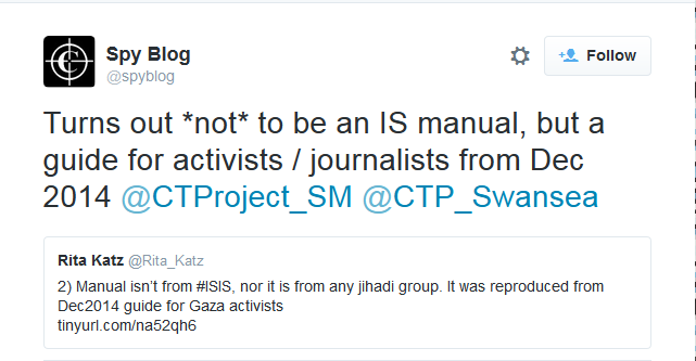 2015-11-24 18_04_35-Spy Blog on Twitter_ _Turns out _not_ to be an IS manual, but a guide for activi