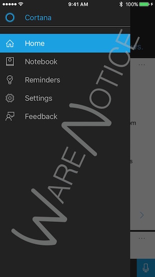 Cortana-for-iOS_Warenotice_1