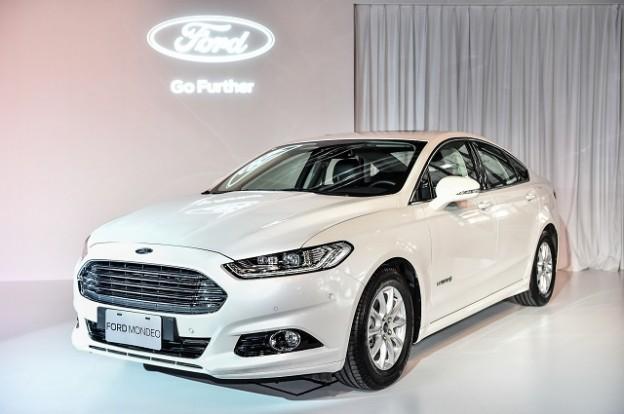 福特开启节能环保新纪元,ford mondeo 油电混合动力车