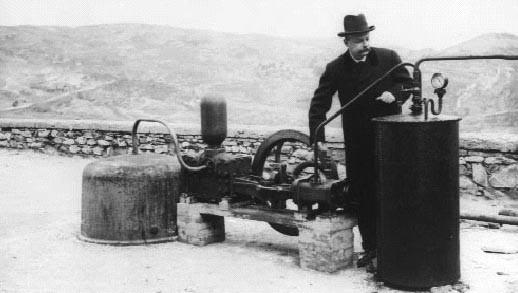 Piero Ginori Conti Geothermal generator