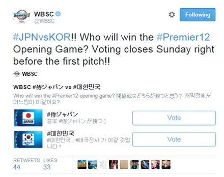 WBSC Voting forecast_Twitter1106