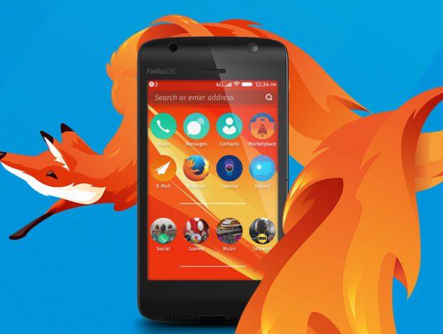 Firefox OS 截取自Mozilla官方網站。