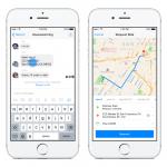 Facebook Messenger 內建叫車功能,與朋友約定好地點車就到了