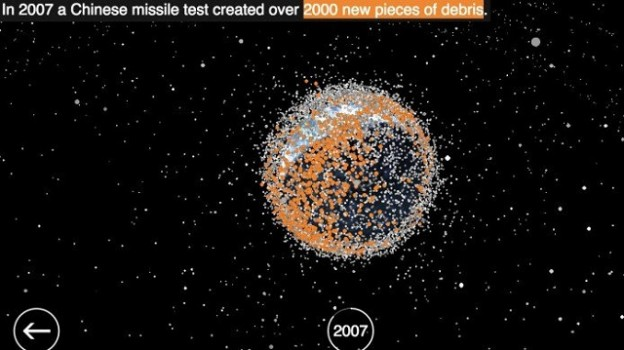 2007 Number of space junk_unwire.hk1228